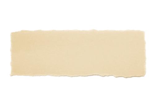 Letter - Document「torn brown  paper」:スマホ壁紙(4)