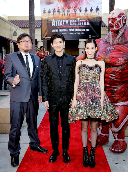 "Kiko Mizuhara「""ATTACK ON TITAN"" World Premiere」:写真・画像(19)[壁紙.com]"