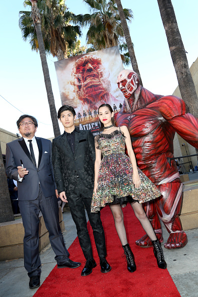 """Kiko Mizuhara「""""ATTACK ON TITAN"""" World Premiere」:写真・画像(2)[壁紙.com]"""