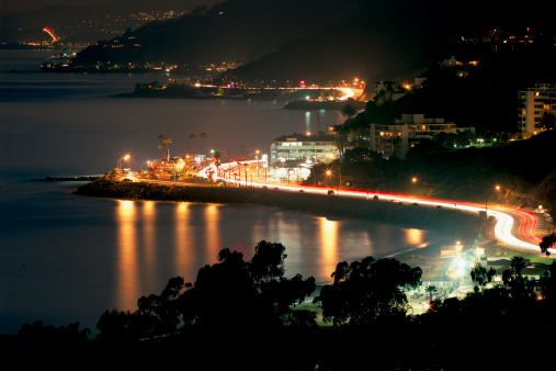 California State Route 1「Pacific Caost Highway at night.」:スマホ壁紙(0)