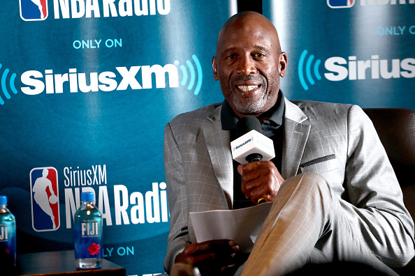 James Worthy「NBA Legend Jerry West Sits Down for SiriusXM Town Hall at the L.A. Forum, hosted by James Worthy」:写真・画像(10)[壁紙.com]