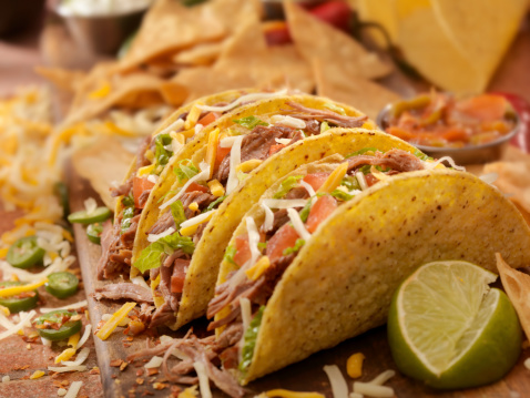 Fast Food「Hard Shredded Beef Tacos」:スマホ壁紙(12)