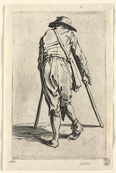 Etching「The Beggars: Beggar On Crutches」:写真・画像(14)[壁紙.com]