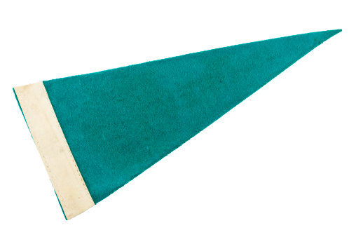 Triangle Shape「Old Green Pennant」:スマホ壁紙(13)