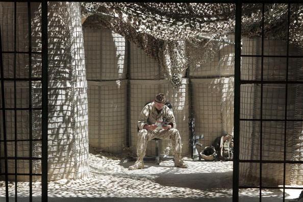 Middle East「U.S. Marines Provide Security For Hit」:写真・画像(10)[壁紙.com]