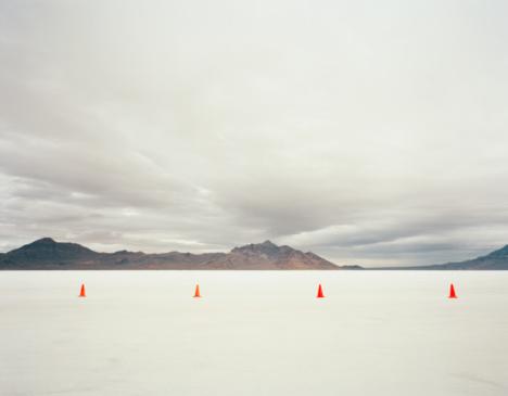 2007「Utah, Salt Lake City, Traffic cones in salt lake」:スマホ壁紙(3)