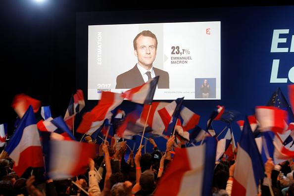 世界遺産「Presidential Candidate Emmanuel Macron Hosts A Meeting At Parc Des Expositions In Paris」:写真・画像(11)[壁紙.com]