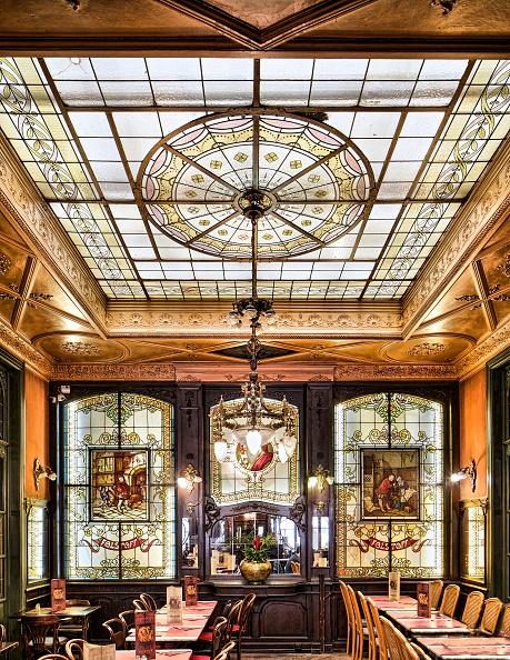 Ceiling「Taverne-Restaurant Falstaff」:写真・画像(6)[壁紙.com]