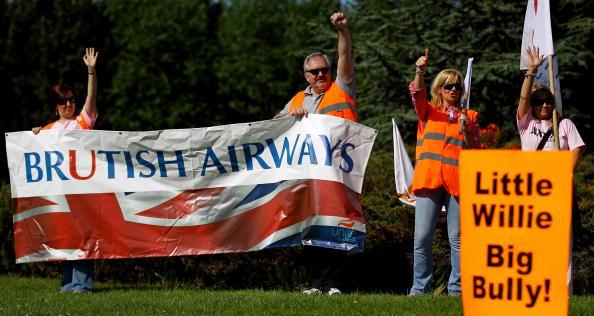 British Airways「British Airways Cabin Crew Begin Strikes」:写真・画像(16)[壁紙.com]