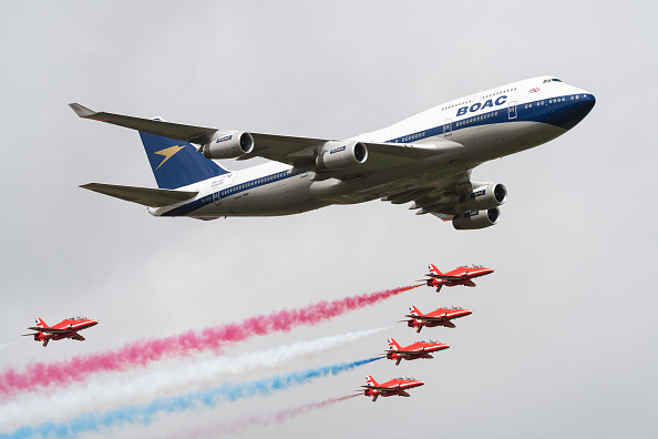 British Airways「Royal International Air Tattoo」:写真・画像(18)[壁紙.com]