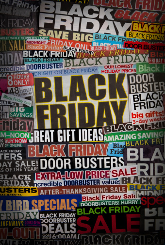 Buy - Single Word「Colorful black friday newspaper collage」:スマホ壁紙(17)