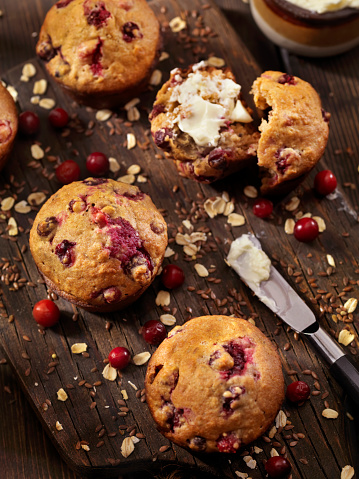 Oats - Food「Cranberry Muffins」:スマホ壁紙(11)