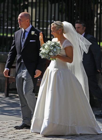 Wedding Dress「Zara Phillips Marries Mike Tindall In Edinburgh」:写真・画像(16)[壁紙.com]