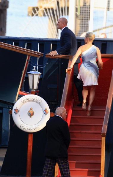 Passenger Craft「Zara Phillips And Mike Tindall Host Pre Wedding Party On Royal Yacht Britannia」:写真・画像(0)[壁紙.com]