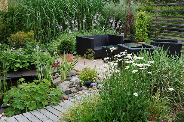 Garden lounge:スマホ壁紙(壁紙.com)