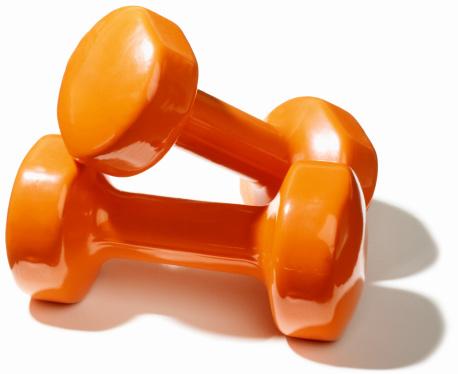 Orange Color「Dumbbell Weights」:スマホ壁紙(14)
