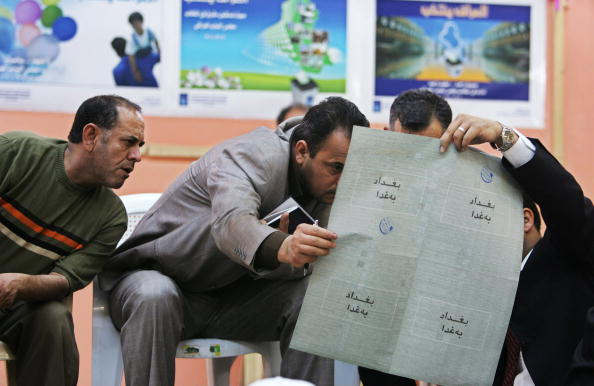 Muhannad Fala'ah「Preliminary Results of Iraq's Election Expected by Thursday」:写真・画像(1)[壁紙.com]