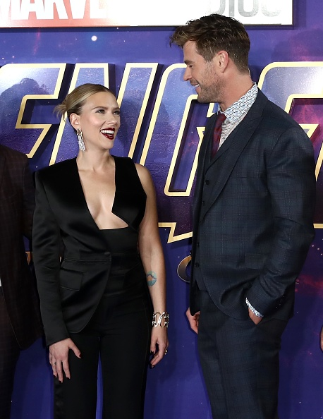 "Checked Suit「""Avengers Endgame"" UK Fan Event - Arrivals」:写真・画像(13)[壁紙.com]"