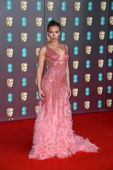 Embellished Dress「EE British Academy Film Awards 2020 - Red Carpet Arrivals」:写真・画像(0)[壁紙.com]