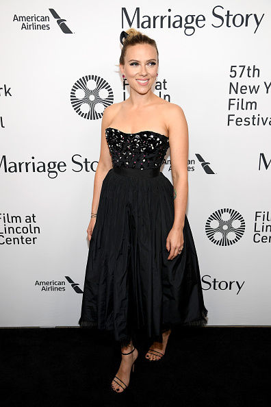"Strapless「57th New York Film Festival - ""Marriage Story"" Arrivals」:写真・画像(0)[壁紙.com]"