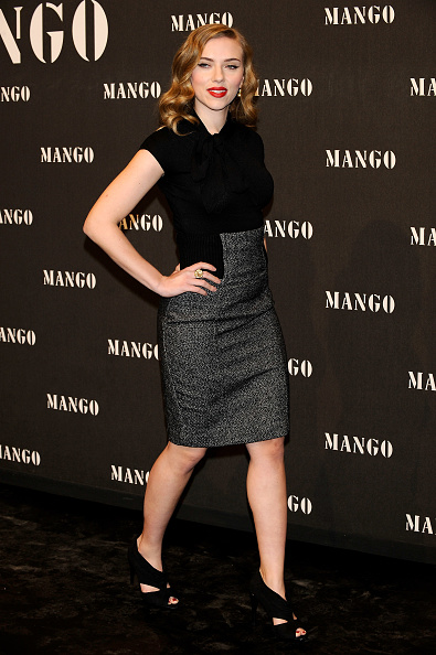 Pencil Dress「Scarlett Johansson Attends 'Mango New Collection Launch Party' in Madrid」:写真・画像(8)[壁紙.com]