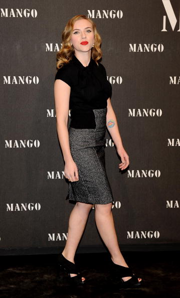 Pencil Dress「Scarlett Johansson Attends 'Mango New Collection Launch Party' in Madrid」:写真・画像(7)[壁紙.com]