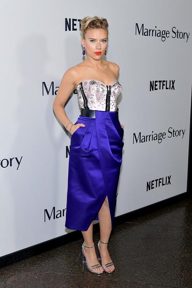 "Purple「Premiere Of Netflix's ""Marriage Story"" - Arrivals」:写真・画像(11)[壁紙.com]"