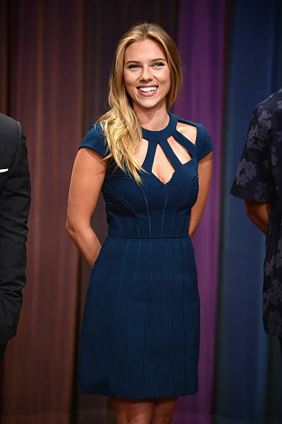 "Scarlett Johansson Visits ""Late Night With Jimmy Fallon"":ニュース(壁紙.com)"