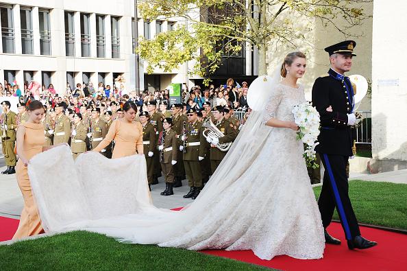 Elie Saab - Designer Label「The Wedding Of Prince Guillaume Of Luxembourg & Stephanie de Lannoy - Official Ceremony」:写真・画像(7)[壁紙.com]