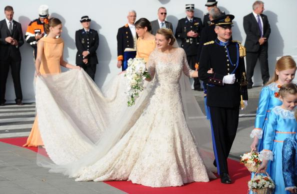 Elie Saab - Designer Label「The Wedding Of Prince Guillaume Of Luxembourg & Stephanie de Lannoy - Official Ceremony」:写真・画像(5)[壁紙.com]