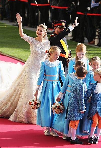 Elie Saab - Designer Label「The Wedding Of Prince Guillaume Of Luxembourg & Stephanie de Lannoy - Official Ceremony」:写真・画像(3)[壁紙.com]