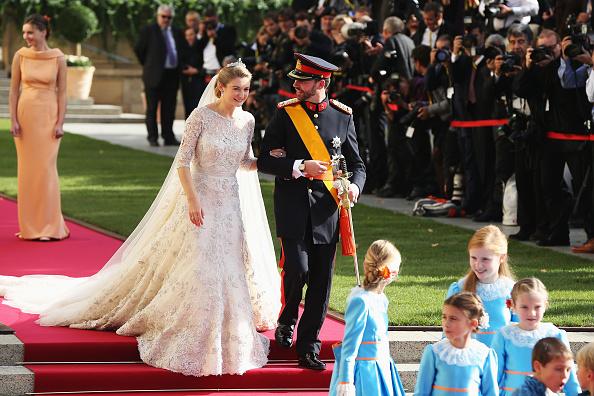 Elie Saab - Designer Label「The Wedding Of Prince Guillaume Of Luxembourg & Stephanie de Lannoy - Official Ceremony」:写真・画像(19)[壁紙.com]