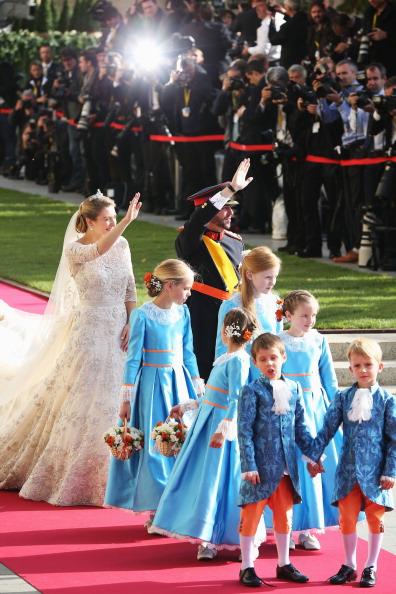 Elie Saab - Designer Label「The Wedding Of Prince Guillaume Of Luxembourg & Stephanie de Lannoy - Official Ceremony」:写真・画像(2)[壁紙.com]