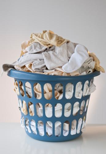 Washing「Basket with laundry」:スマホ壁紙(19)