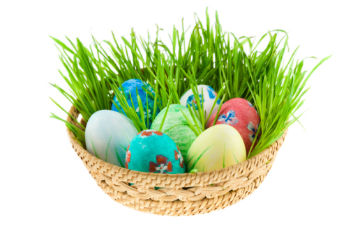 Easter Basket「Basket with Easter eggs」:スマホ壁紙(11)