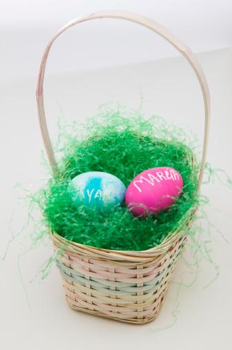 Easter Basket「Basket with Easter eggs」:スマホ壁紙(3)