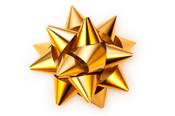Golden bow:スマホ壁紙(壁紙.com)
