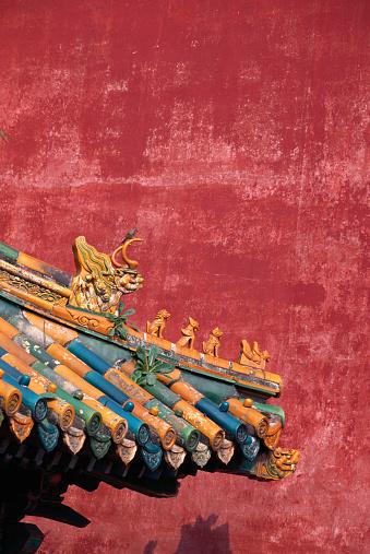 Dragon「Corner of Chinese Roof」:スマホ壁紙(13)