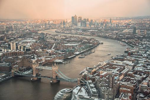 London Bridge - England「London from above」:スマホ壁紙(0)