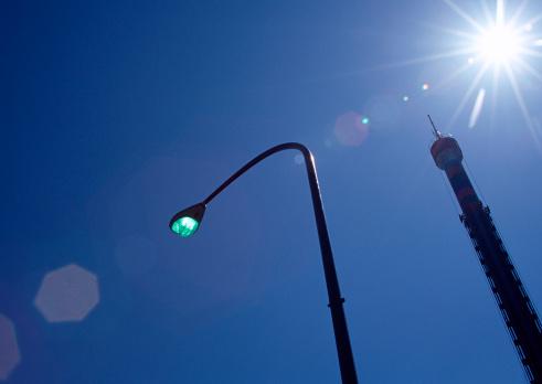 Turning On Or Off「Street Light」:スマホ壁紙(10)