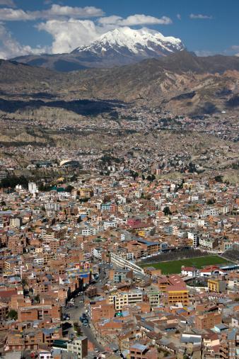 Bolivian Andes「La Paz and Illimani Mountain 」:スマホ壁紙(13)