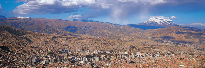 Bolivian Andes「La Paz and Illimani, Bolivia」:スマホ壁紙(10)