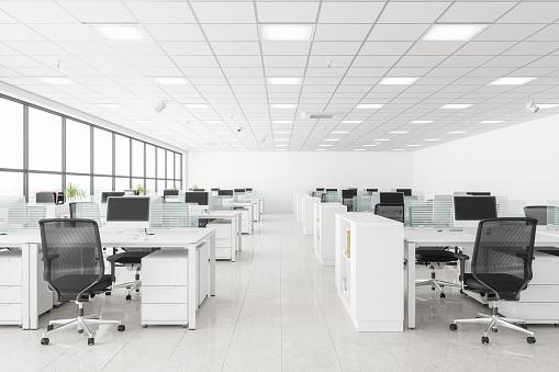 Corporate Business「Open Space Office」:スマホ壁紙(4)