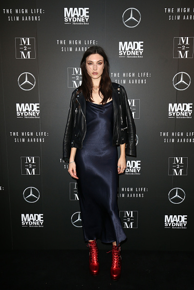 Leather Jacket「MADE Sydney - The High Life: Slim Aarons Film Premiere - Arrivals」:写真・画像(18)[壁紙.com]