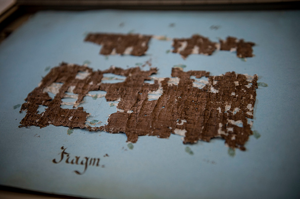 Science and Technology「Ancient Papyrus Scrolls At The National Library Of Naples」:写真・画像(6)[壁紙.com]