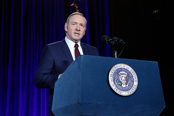 """Netflix「The Smithsonian And Netflix Host A Portrait Unveiling And Season 4 Premiere Of """"House Of Cards""""」:写真・画像(13)[壁紙.com]"""