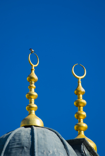 半月「Turkey, Istanbul, Dome roof of Haghia Sophia Mosque」:スマホ壁紙(19)