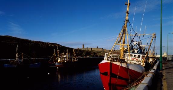 Isle of Man「eel Harbour And Castle」:スマホ壁紙(14)