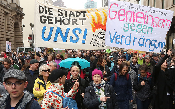 Adam Berry「Berliners Protest Climbing Rent Prices」:写真・画像(0)[壁紙.com]