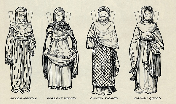 Traditional Clothing「The Gallery Of British Costume: The Dress Of Danes & Later Anglo-Saxons」:写真・画像(8)[壁紙.com]
